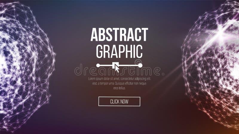 Τεχνολογική αφηρημένη απεικόνιση αίσθησης Τεχνολογική αφηρημένη απεικόνιση αίσθησης Διανυσματική έννοια τεχνολογίας απεικόνιση αποθεμάτων