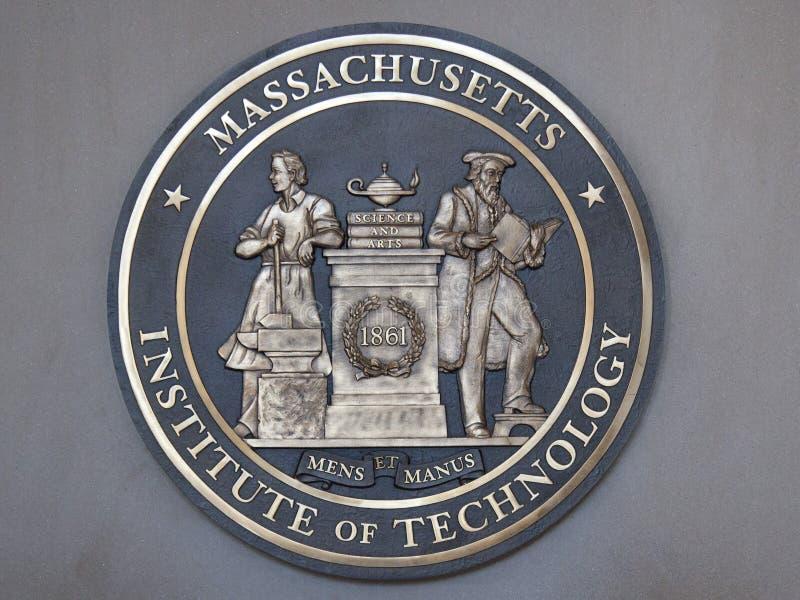 Τεχνολογικό Ινστιτούτο της Μασαχουσέτης, MIT Βοστώνη στοκ εικόνες με δικαίωμα ελεύθερης χρήσης