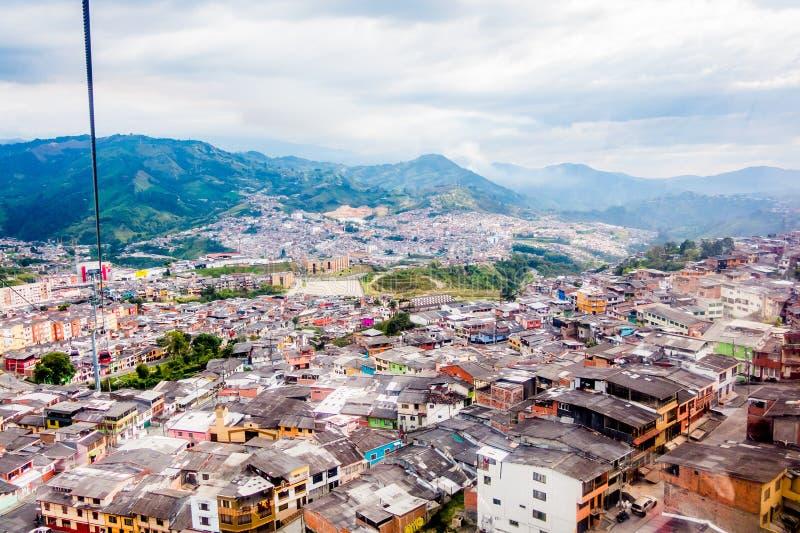 Τελεφερίκ στο Manizales, Κολομβία στοκ εικόνες με δικαίωμα ελεύθερης χρήσης
