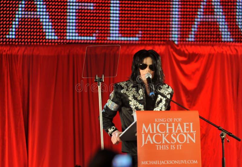 Τζάκσον michael στοκ φωτογραφίες