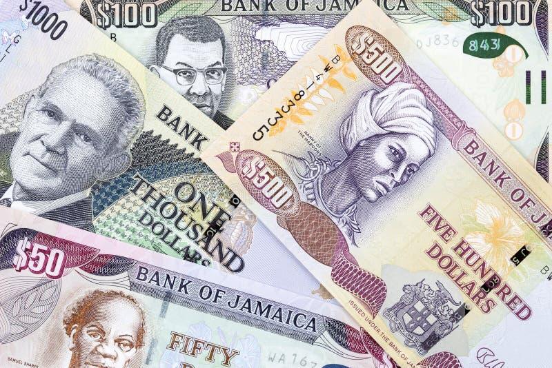 Τζαμαϊκανά χρήματα, ένα υπόβαθρο στοκ εικόνα με δικαίωμα ελεύθερης χρήσης