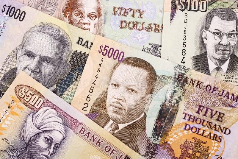 Τζαμαϊκανά χρήματα, ένα υπόβαθρο στοκ εικόνες με δικαίωμα ελεύθερης χρήσης