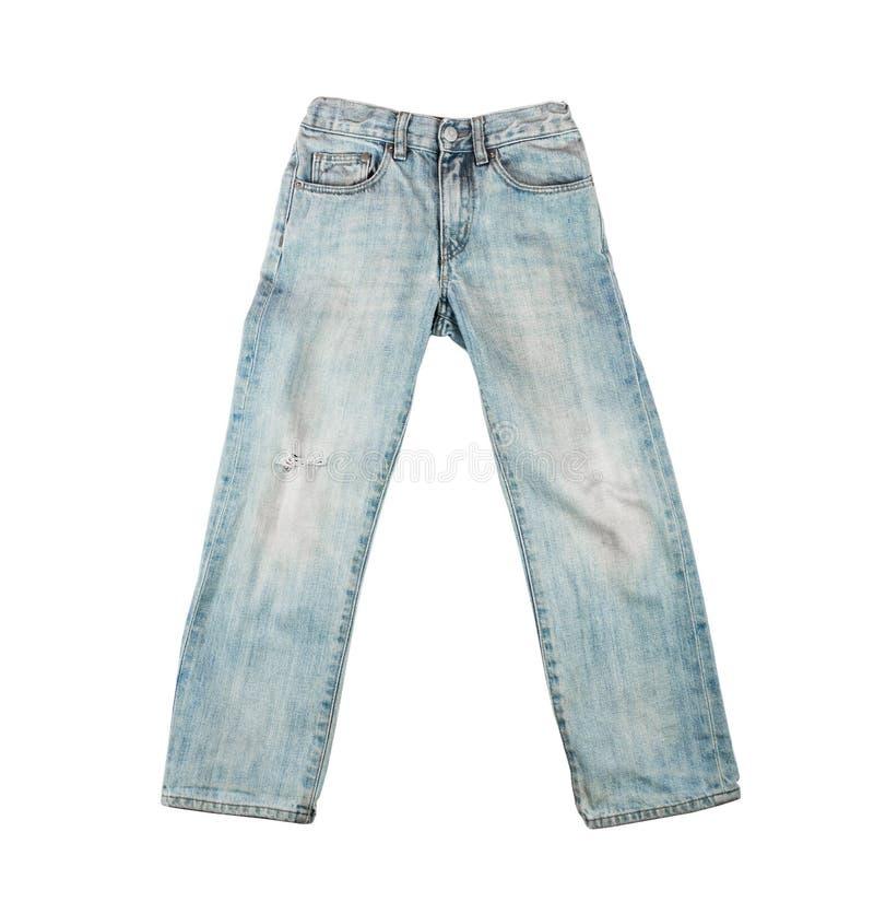 τζιν παντελόνι ανασκόπησης συμπαθητικό στοκ εικόνα