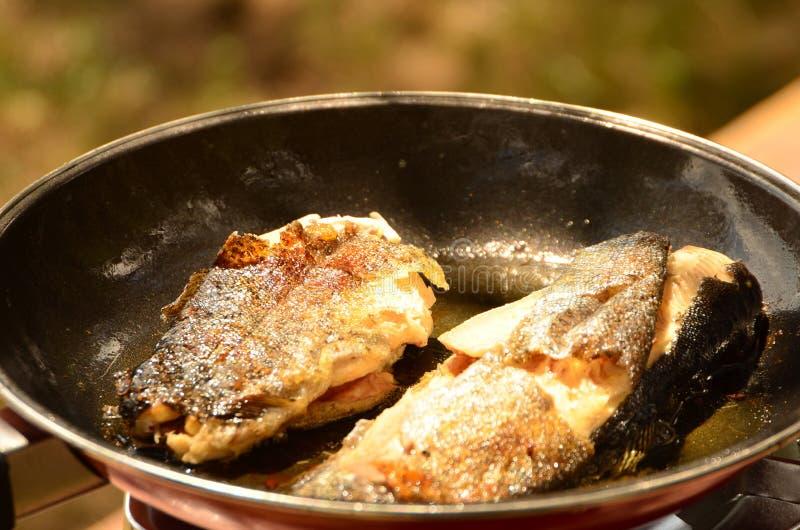 τηγανητά ψαριών στοκ φωτογραφία