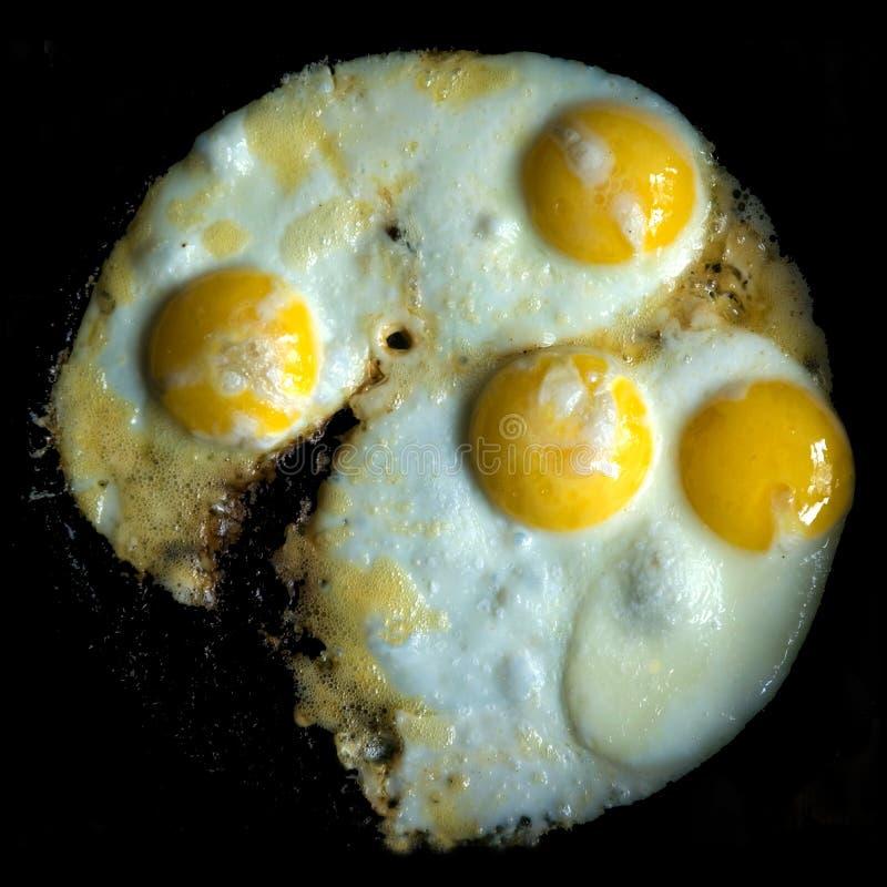 Τηγανισμένα αυγά στοκ φωτογραφίες με δικαίωμα ελεύθερης χρήσης