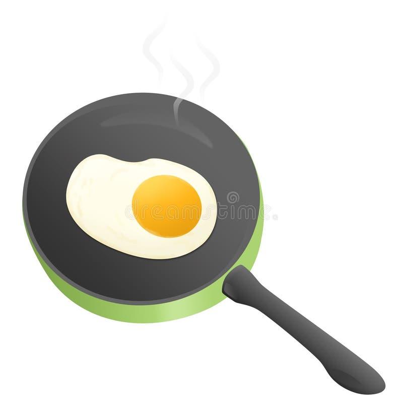 Τηγανισμένα αυγά Στοκ Φωτογραφίες