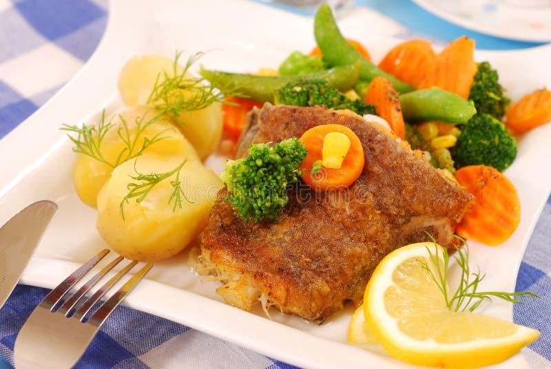 τηγανισμένα γεύμα λαχανι&kappa στοκ εικόνες με δικαίωμα ελεύθερης χρήσης
