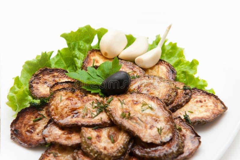τηγανισμένα κολοκύθια φ&epsi στοκ φωτογραφίες με δικαίωμα ελεύθερης χρήσης