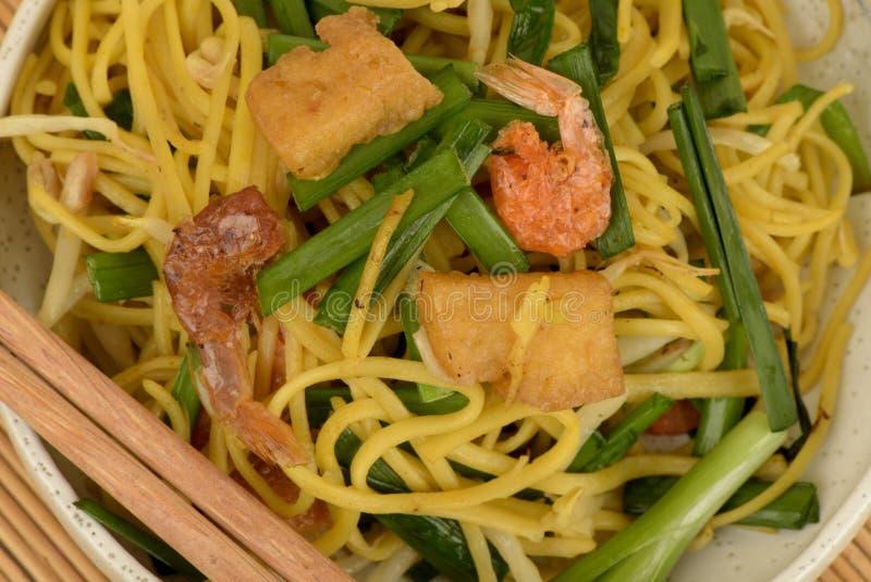 Τηγανισμένα νουντλς κίτρινο J, τρόφιμα στοκ εικόνες με δικαίωμα ελεύθερης χρήσης