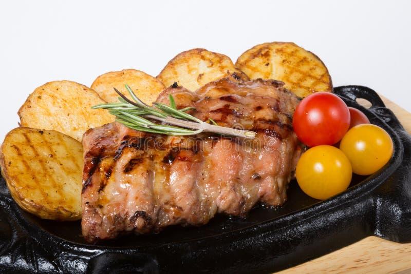 Τηγανισμένα πλευρά χοιρινού κρέατος στοκ φωτογραφία με δικαίωμα ελεύθερης χρήσης