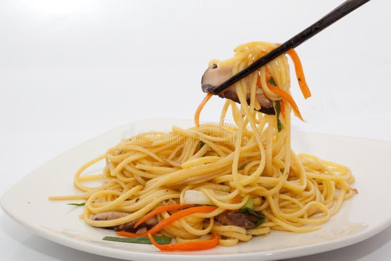 τηγανισμένα noodles ανακατώνουν στοκ φωτογραφίες με δικαίωμα ελεύθερης χρήσης
