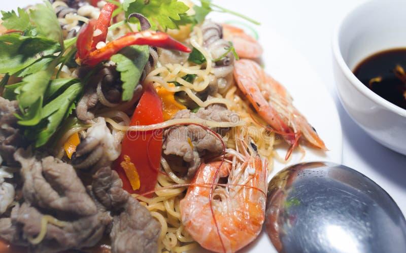 Τηγανισμένα noodles στοκ φωτογραφίες με δικαίωμα ελεύθερης χρήσης