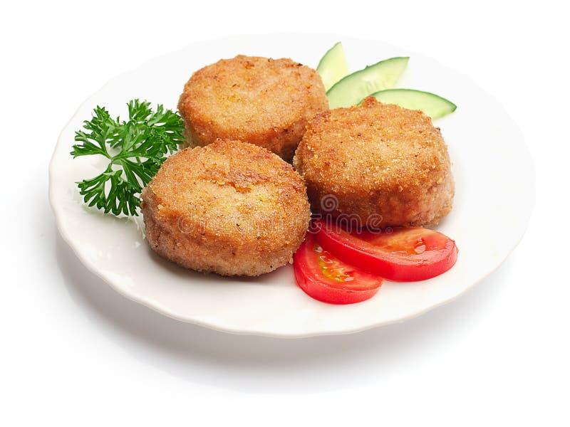 τηγανισμένες αγγούρια ντ&om στοκ φωτογραφία με δικαίωμα ελεύθερης χρήσης