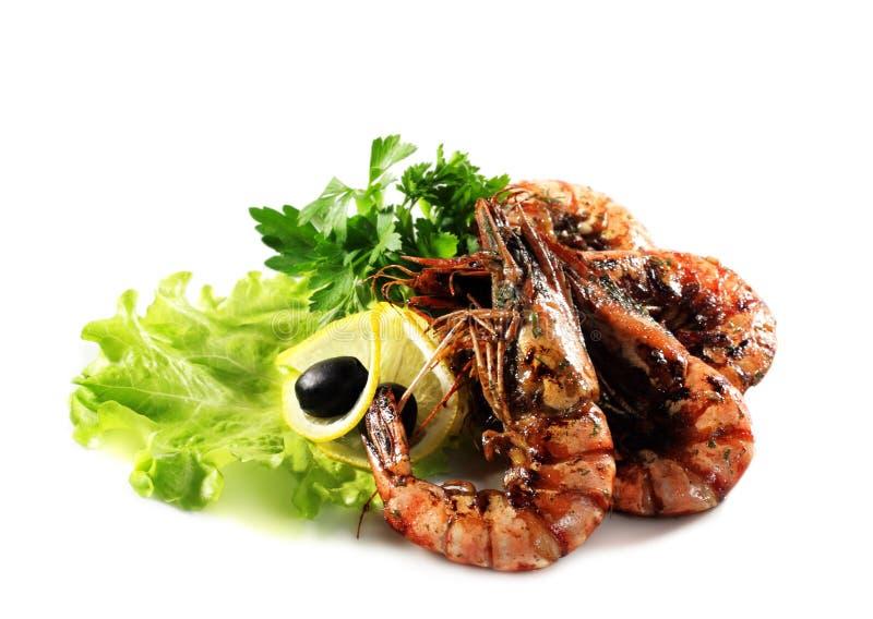 τηγανισμένες γαρίδες θα&la στοκ φωτογραφίες
