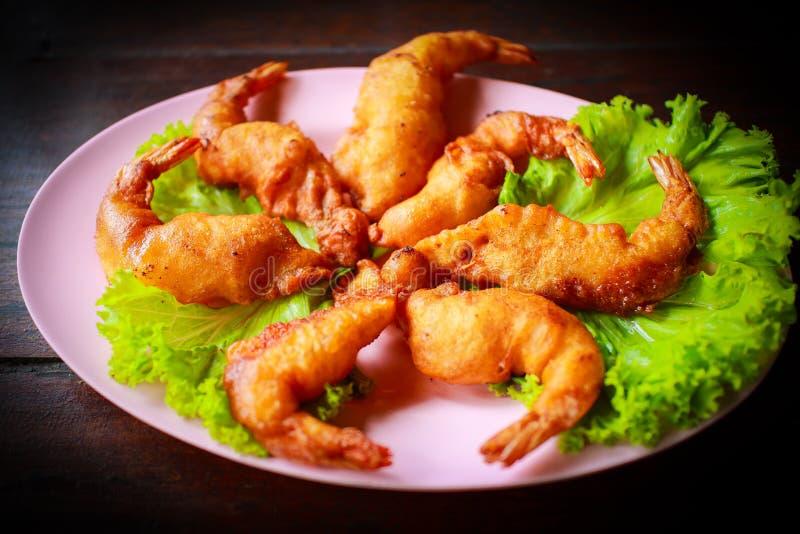 τηγανισμένες γαρίδες στοκ φωτογραφία με δικαίωμα ελεύθερης χρήσης