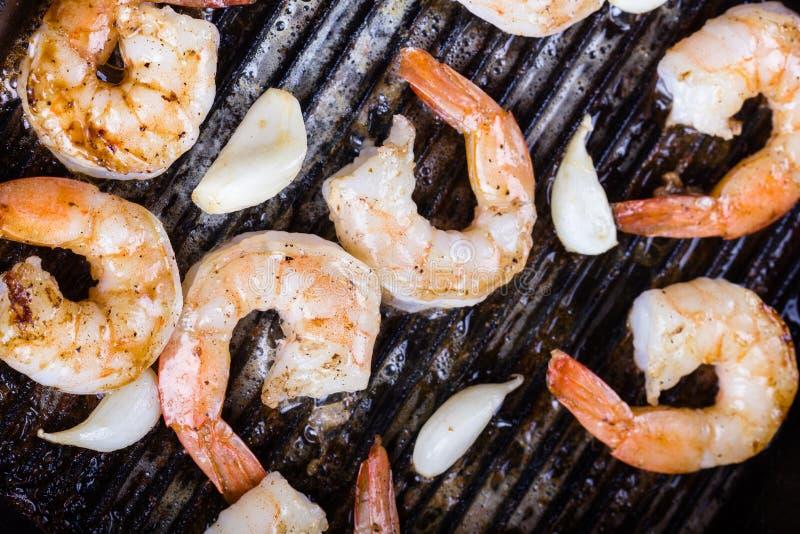 τηγανισμένες γαρίδες στοκ εικόνες με δικαίωμα ελεύθερης χρήσης