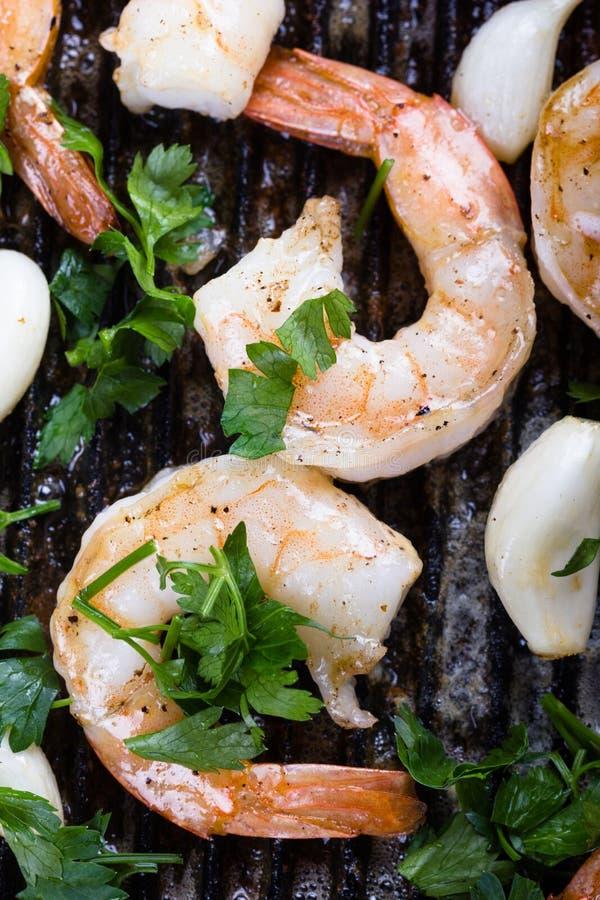 τηγανισμένες γαρίδες στοκ εικόνα με δικαίωμα ελεύθερης χρήσης