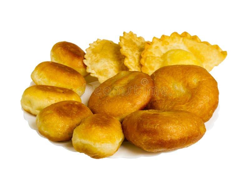 Download Τηγανισμένες πίτες και πίτες που απομονώνονται Στοκ Εικόνα - εικόνα από τηγανισμένος, σπιτικός: 62701221