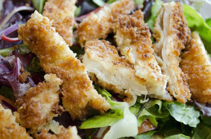 τηγανισμένη κοτόπουλο σ&alph στοκ εικόνες