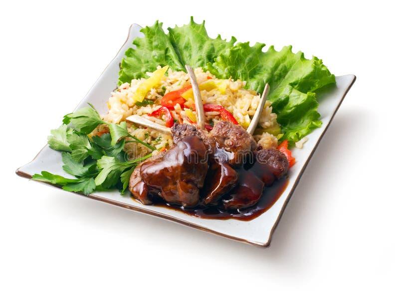 τηγανισμένη σάλτσα σαλάτα&s στοκ φωτογραφία με δικαίωμα ελεύθερης χρήσης