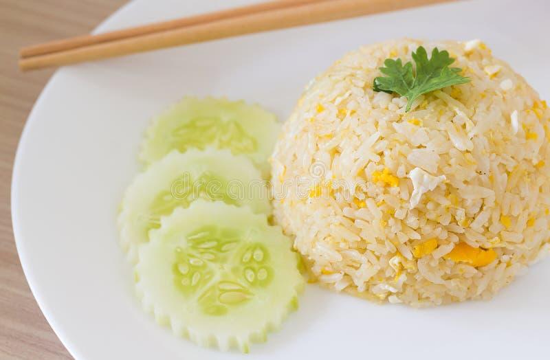 τηγανισμένο αυγό ρύζι στοκ φωτογραφία με δικαίωμα ελεύθερης χρήσης