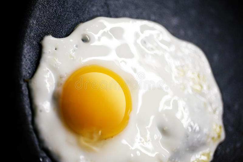 Τηγανισμένο αυγό στοκ εικόνες με δικαίωμα ελεύθερης χρήσης