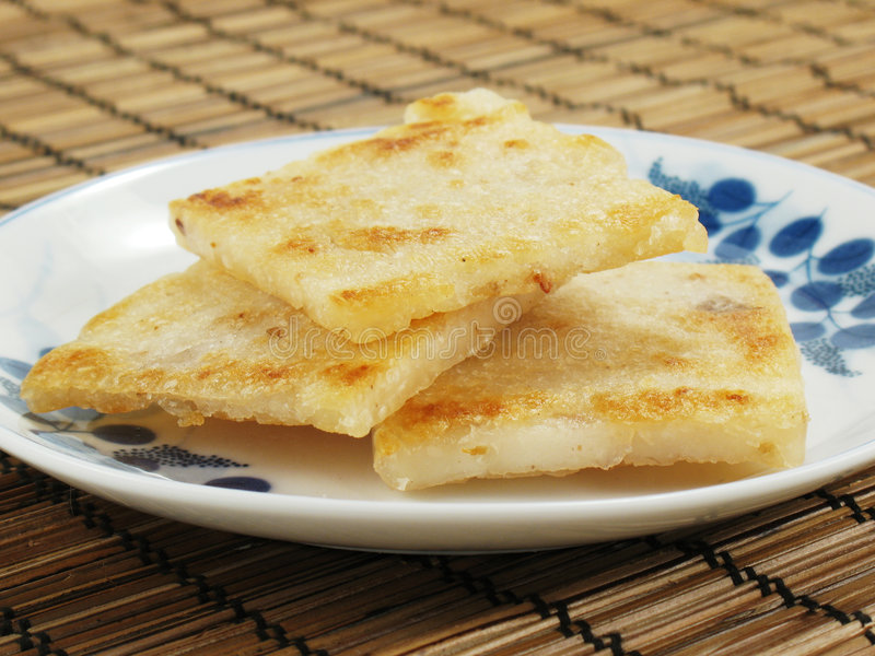τηγανισμένο κέικ taro στοκ φωτογραφίες με δικαίωμα ελεύθερης χρήσης
