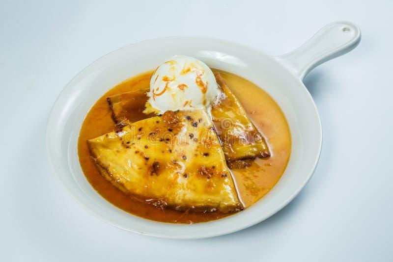 τηγανισμένο κοτόπουλο πό&de στοκ εικόνα με δικαίωμα ελεύθερης χρήσης