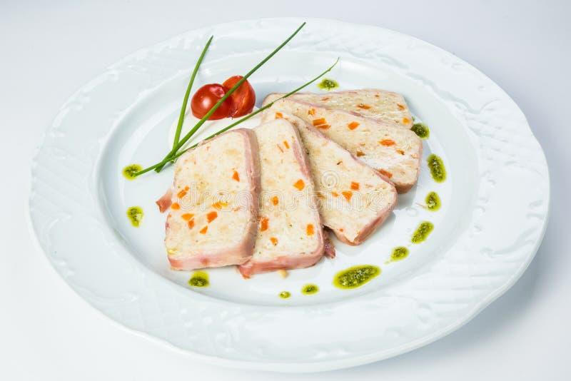 τηγανισμένο κοτόπουλο πό&de στοκ εικόνες με δικαίωμα ελεύθερης χρήσης