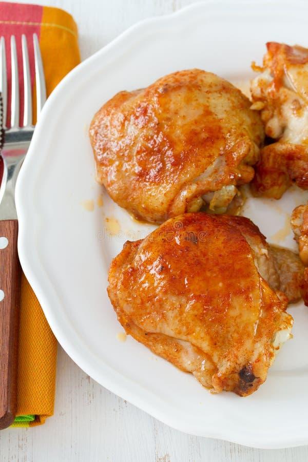 Τηγανισμένο κοτόπουλο στοκ εικόνες με δικαίωμα ελεύθερης χρήσης