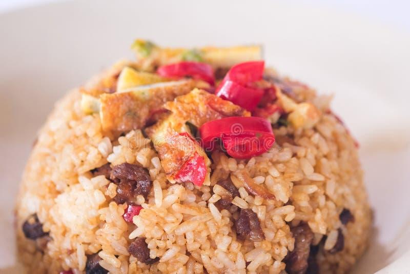 τηγανισμένο ρύζι στοκ εικόνες