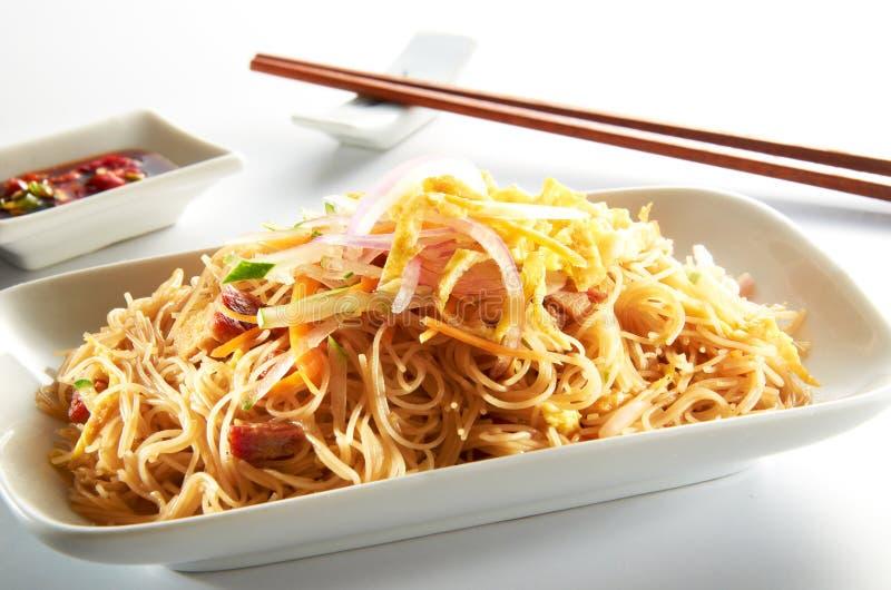 τηγανισμένο Hoon Mee Noodle Στοκ Φωτογραφία