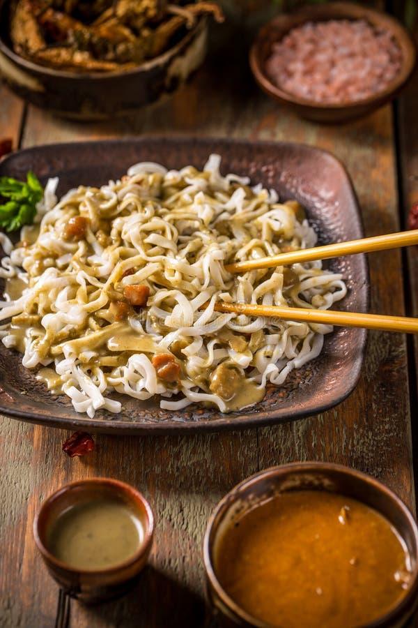 τηγανισμένο noodle ανακατώνει στοκ φωτογραφία με δικαίωμα ελεύθερης χρήσης