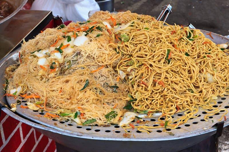 τηγανισμένο noodles ρύζι Ταϊβάν στοκ εικόνες