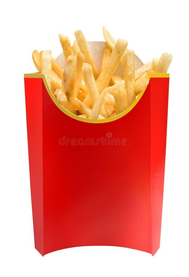τηγανιτές πατάτες γρήγορου φαγητού στοκ φωτογραφία με δικαίωμα ελεύθερης χρήσης