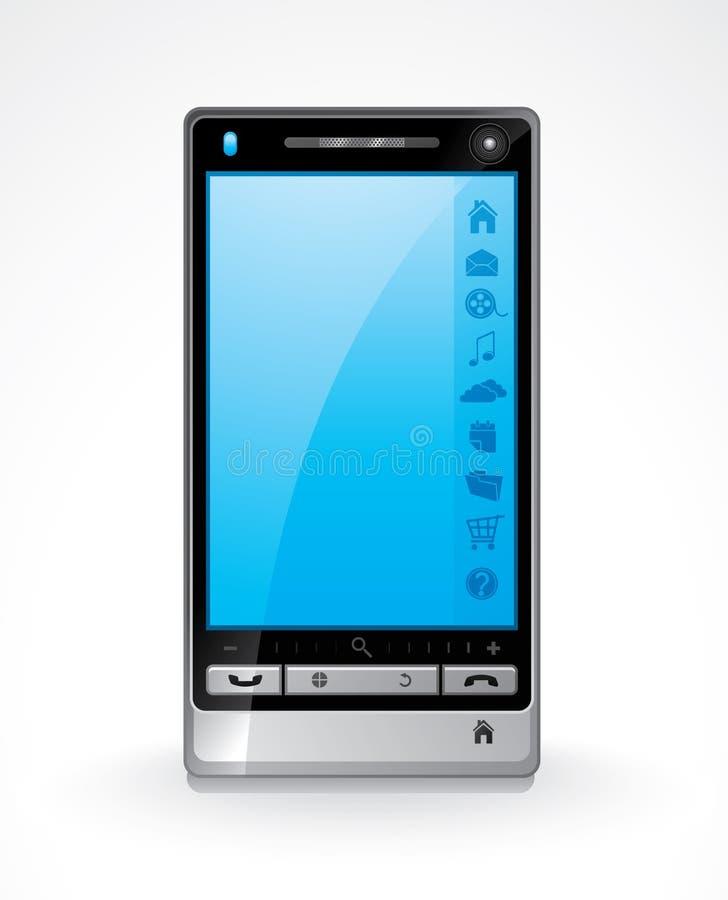 Download τηλέφωνο έξυπνο διανυσματική απεικόνιση. εικονογραφία από αφή - 13175832