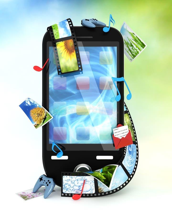 τηλέφωνο έξυπνο διανυσματική απεικόνιση