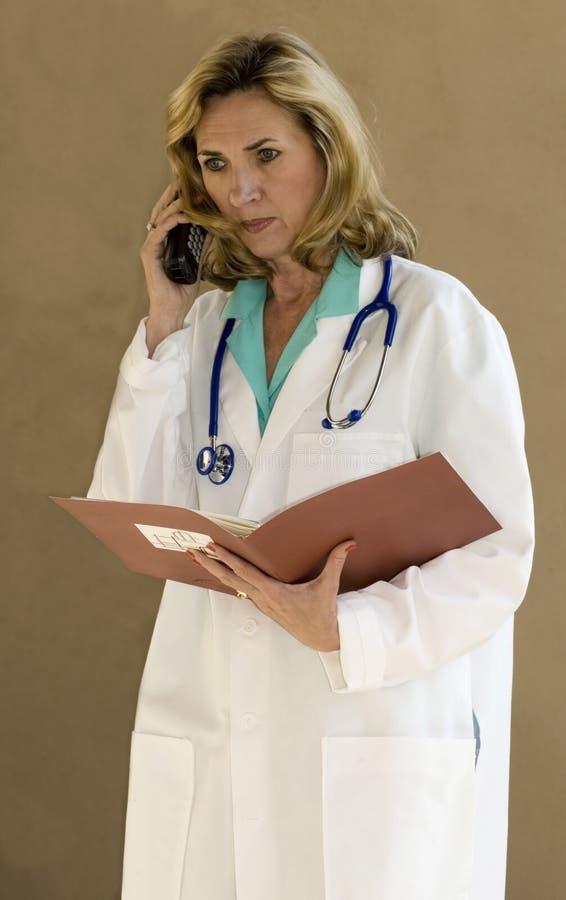 τηλέφωνο γιατρών διαγραμμά& στοκ εικόνες με δικαίωμα ελεύθερης χρήσης