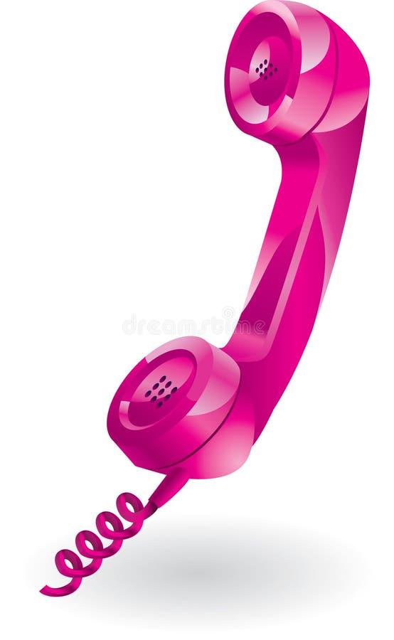 τηλέφωνο δεκτών διανυσματική απεικόνιση