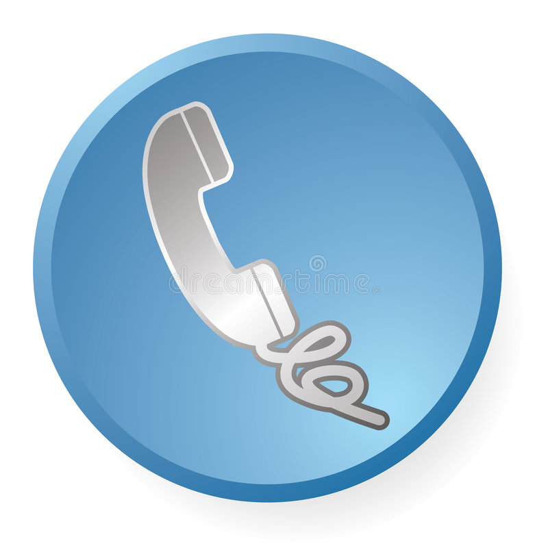 τηλέφωνο εικονιδίων απεικόνιση αποθεμάτων