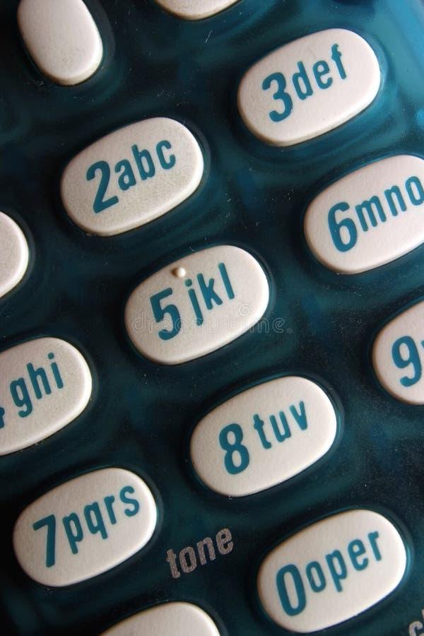 τηλέφωνο κουμπιών Στοκ φωτογραφίες με δικαίωμα ελεύθερης χρήσης