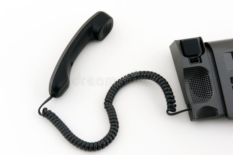 Τηλέφωνο με το βγαλμένο σωλήνα στοκ εικόνες με δικαίωμα ελεύθερης χρήσης