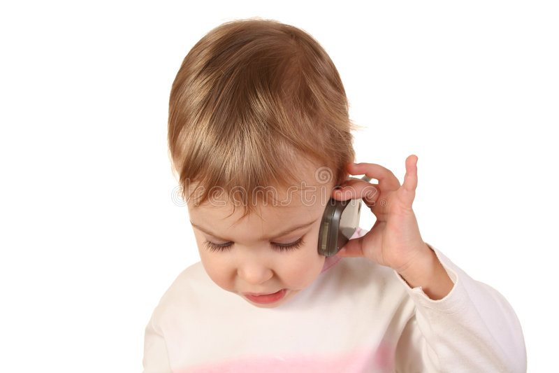 τηλέφωνο μωρών στοκ φωτογραφία με δικαίωμα ελεύθερης χρήσης
