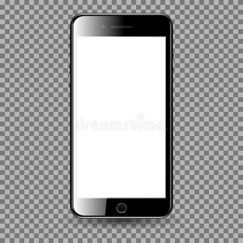 Τηλέφωνο της Mobil με την κενή οθόνη στοκ εικόνες