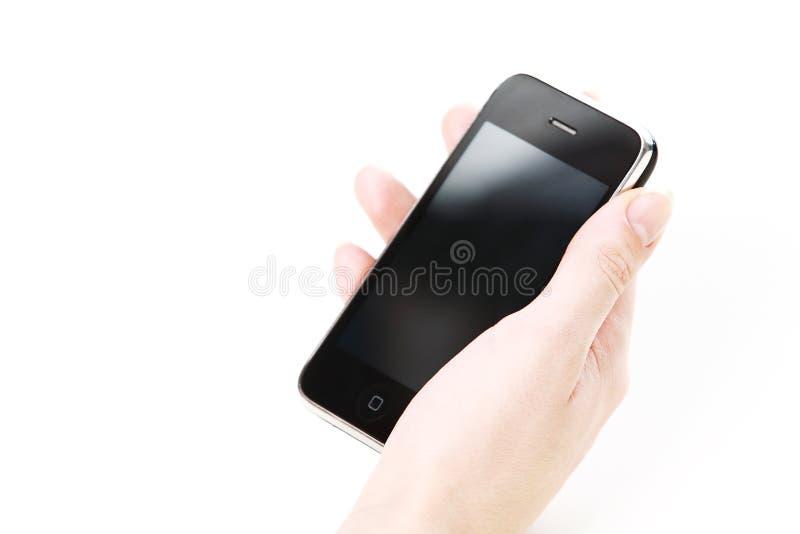 τηλέφωνο χεριών στοκ εικόνα