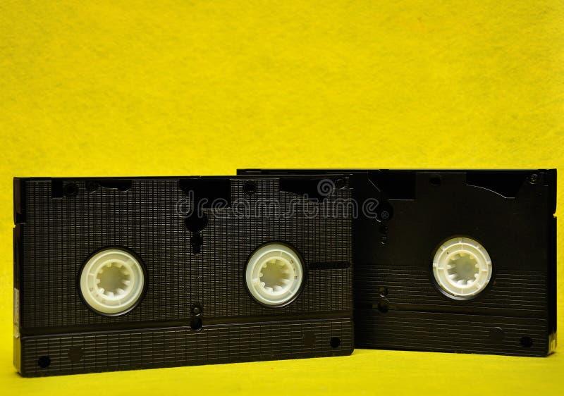 Τηλεοπτικές κασέτες στοκ φωτογραφία με δικαίωμα ελεύθερης χρήσης