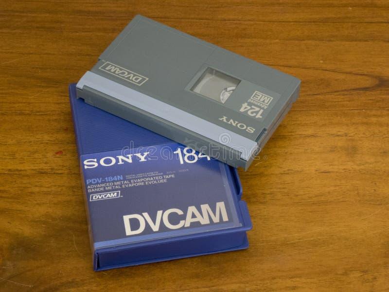 Τηλεοπτική κασέτα DVCAM στοκ εικόνα με δικαίωμα ελεύθερης χρήσης