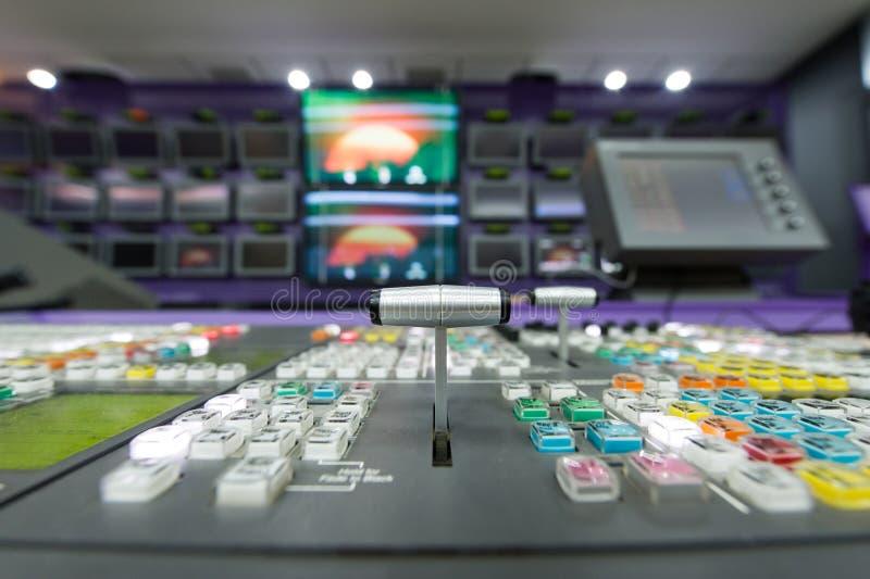 Τηλεοπτικός Switcher στοκ φωτογραφία με δικαίωμα ελεύθερης χρήσης