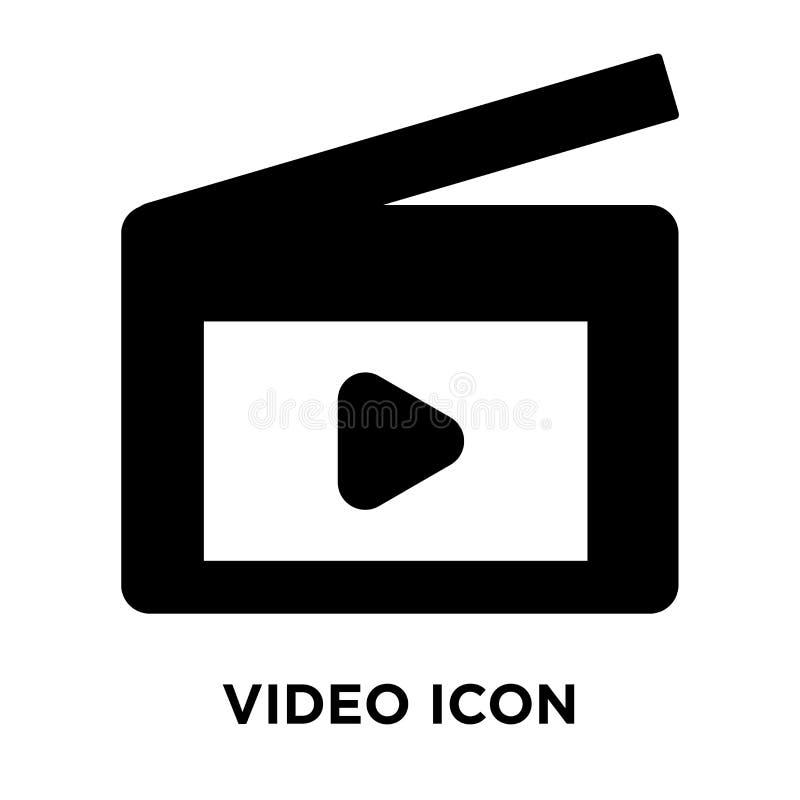 Τηλεοπτικό διάνυσμα εικονιδίων που απομονώνεται στο άσπρο υπόβαθρο, έννοια λογότυπων απεικόνιση αποθεμάτων