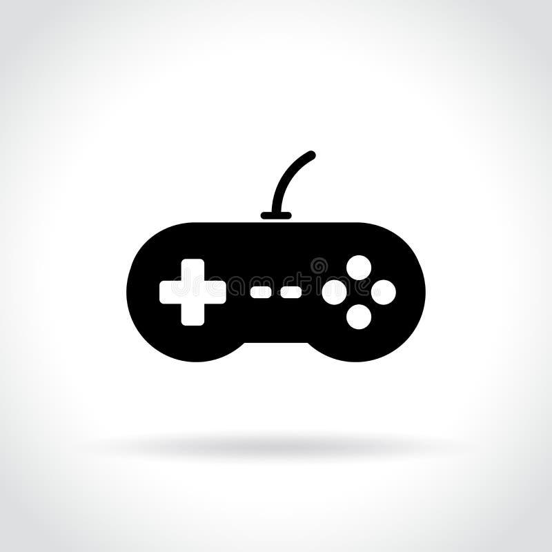 Τηλεοπτικό εικονίδιο παιχνιδιών στο άσπρο υπόβαθρο ελεύθερη απεικόνιση δικαιώματος
